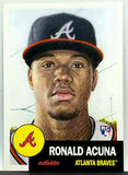 Ronald Acuna Jr Rookie 2018 Topps Living Set #19 Braves ROY, Limited!