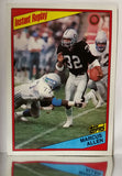 Marcus Allen, HOF, Running Back, RB, Raiders, Los Angeles, Rushing, NFL, Topps, Football Card