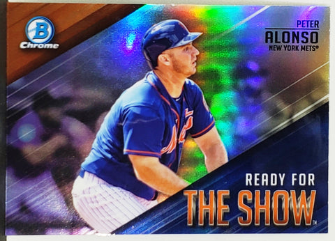 Pete Alonso Rookie Refractor 2019 Bowman Chrome Ready/Show #RFTS-11