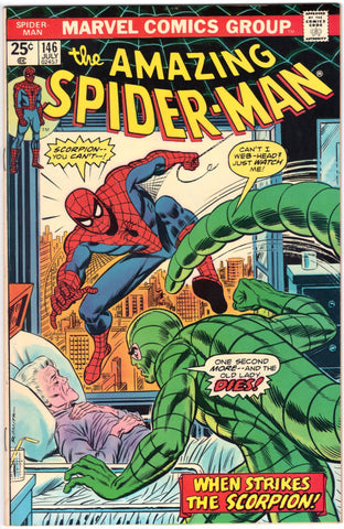 "The Amazing Spider-Man #146, Featuring the Scorpion.  New Comic ""Gloss""!, CardboardandCoins.com"