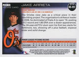 2010 Topps Update # US-251 Jake Arrieta Rookie Card, Cy Young, Cubs, Graded, CardboardandCoins.com