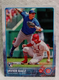 2015 Topps #315 Javier Baez ERROR 2B/SS ROOKIE CARD. RARE TOUGH FIND 9.7 MINT+, CardboardandCoins.com