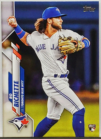 Bichette, Rookie, Flagship, Bo, Topps, Toronto, Blue Jays, Slugger, Home Runs, RC, Baseball Cards