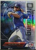 Bichette, Rookie, Refractor, Bo, Toronto, Blue Jays, Home Runs, Bowman, Chrome, Trending, Hash-Tag, Topps, RC, Baseball Cards