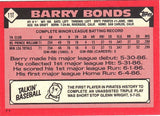 1986 Topps Traded #11T Barry Bonds ROOKIE CARD XRC NM-MT+, Pirates, CardboardandCoins.com