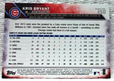 2016 Topps #350 Kris Bryant Rookie Card, ROY '15, Chicago Cubs, 9.5 Mint+, CardboardandCoins.com