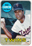"1969 TOPPS ROD CAREW (HOF) #510 SET BREAK CLEAN CARD ABOUT NM TWINS ""GRADE ME"", CardboardandCoins.com"