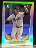 2014 Bowman Chrome * REFRACTOR * #CDP7 MICHAEL CONFORTO - NY METS ROOKIE PHENOM !!, CardboardandCoins.com