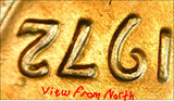 1972 Lincoln Cent 1c with TONS OF ERRORS, Doubled Letters+++ See pics!, CardboardandCoins.com
