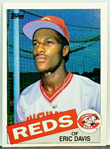 HOT! Eric Davis ROOKIE 1985 Topps #627 Reds All-Star 30/30 Power/Speed