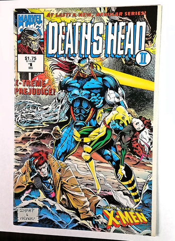 Deaths Head II #1 Marvel Comics US, 1992, Guardians of the Galaxy 2 Movie X-Men