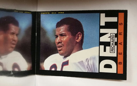 Richard Dent, Rookie, Topps, HOF, Chicago, Bears, Super Bowl, Defensive End, DE, NFL, Football Card