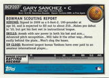 HOT * GARY SANCHEZ ROOKIE * 2010 Bowman Chrome Prospects BCP207 Yankees Auto, CardboardandCoins.com