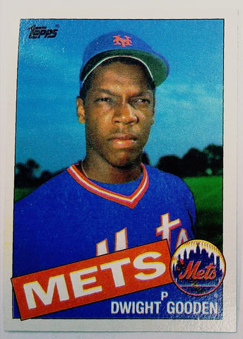 Dwight Gooden Rookie Card 1985 Topps Doc Gooden Rookie Rc 620 Mets Pack Fresh