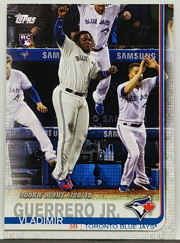 Guerrero, Rookie, Debut, Vladimir, Vlad, Toronto, Blue Jays, Topps, Update, Home Runs, RC, Baseball Cards