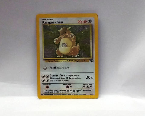 Kangaskhan 5/64 Holo Rare Pokemon Jungle NM, CardboardandCoins.com