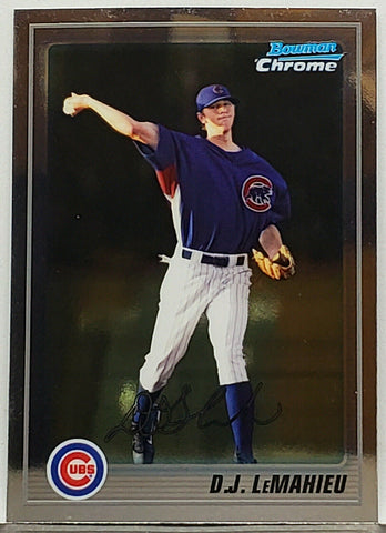 LeMahieu, DJ, Rookie, Chicago, Cubs, Yankees, Home Runs, Bowman, Chrome, Topps, RC, Baseball Cards