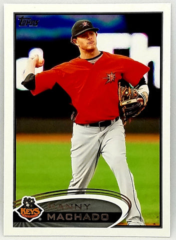 MANNY MACHADO ROOKIE! 2012 TOPPS DEBUT #16 KEYS & BALTIMORE ORIOLES. PACK FRESH