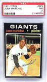 PSA 7 NM 1971 Topps JUAN MARICHAL (HOF) #325 Giants Pitching Ace, Tough Find!!!