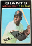 1971 Topps #50 Willie McCovey, 1st Base, Giants, HOF, Close to NM