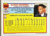 Mourning, Rookie, Alonzo, Topps, Charlotte, Hornets, HOF, RC, Points, NBA, Basketball Cards