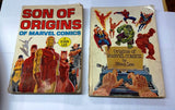"""ORIGINS OF MARVEL COMICS"" AND ""SONS OF ORIGINS"" by Stan Lee, CardboardandCoins.com"