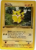 WOW! 1st Edition Pikachu 60/64 Pokemon Jungle Set First Edition TCG VERY Sharp Card NM+, CardboardandCoins.com