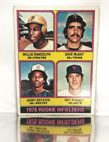 Randolph, Willie, Rookie, Pirates, Yankees
