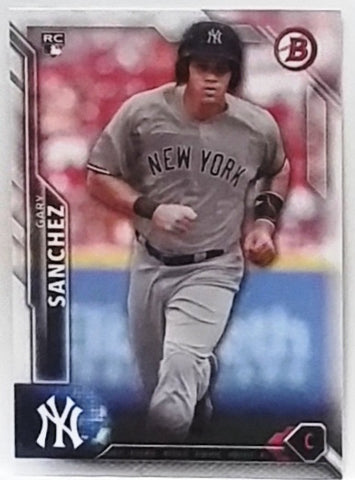 2016 Bowman Draft #143 Gary Sanchez Rookie Card, Catcher, Yankees RC ROY?, CardboardandCoins.com