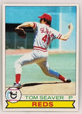 "1979 Topps #100 Tom Seaver, Pitcher, Reds, Mets, HOF, ""Terrific""!"