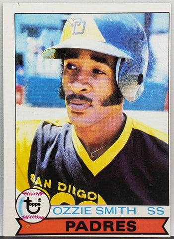 1979 Topps #116 OZZIE SMITH ROOKIE CARD Set Break HOF WIZARD OZ Padres Shortstop 100% ORIGINAL!