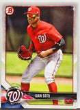 Soto, Juan, Rookie, Card, Washington, Nationals, Home Runs, Bowman, Prospects, Topps, RC, Baseball Cards