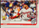 Soto, Juan, Rookie, Trophy, Cup, Washington, Nationals, Home Runs, Topps, Opening Day, RC, Baseball Cards