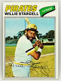 1977 Topps #460 Willie Stargell, HOF 1st Baseman, Pittsburgh Pirates, Set Break