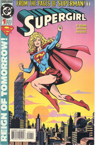 Supergirl #1 DC Comics 1994 - FIrst Issue - RARE - BARGAIN PRICE!, CardboardandCoins.com