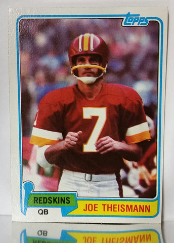 Joe Theismann, Redskins, Washington, Passing, Topps, Quarterback, QB, NFL, Topps, Football Card