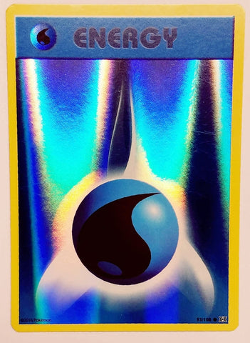 Pokemon Water Energy 93/108 REVERSE HOLO, XY Evolutions Card TCG NM HOT RH!!, CardboardandCoins.com