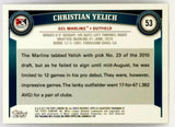 CHRISTIAN YELICH ROOKIE 2011 TOPPS PRO DEBUT #53 MARLINS, BREWERS, NL MVP 2018?