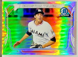 Yelich, Christian, Rookie, Refractor, Mini, MC-CY, Miami, Marlins, MVP, Bowman, Chrome, Topps, RC, Baseball Cards
