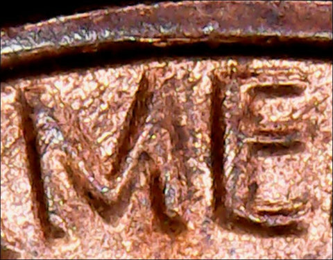 1983-P Lincoln Memorial Cent - CRAZY DOUBLING ERRORS ON REVERSE, CardboardandCoins.com