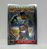 1993 Finest #199 Mike Piazza Rookie Card, Sparkling Topps RC, HOF, HOT!, CardboardandCoins.com