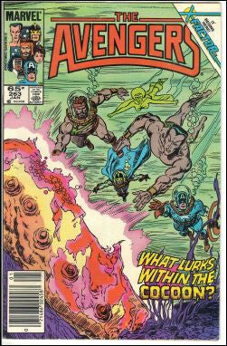 Avengers, 263, Marvel, Captain America, Sub-Mariner, Enclave, X-Factor, Comic Book, Comics, Vintage, Book, Collect, Trading, Collectibles