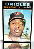 1971 Topps # 29 Don Buford, Outfield, Baltimore Orioles, NM+, CardboardandCoins.com