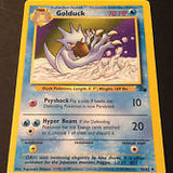 Pokemon Fossil - Old Pokemon Card - Golduck 35/62 Uncommon