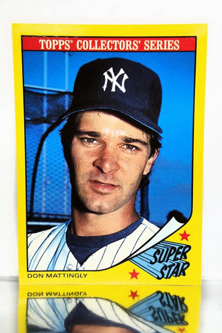 "1986 Topps SuperStar # 20 Don Mattingly, New York Yankees, ""Donnie Baseball"", NM+"
