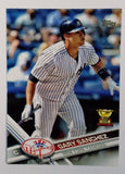 GARY SANCHEZ ROOKIE CARD 2017 Topps #7 Yankees Phenom Catcher Sanchino! HOT!, CardboardandCoins.com