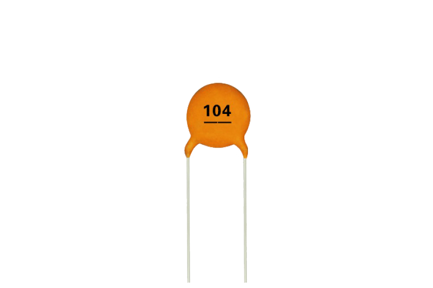 0.1uF - (104) Ceramic Capacitor (3 Pieces pack)