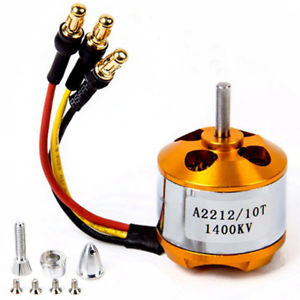 A2212 10T  1400KV Brushless Motor for Drone (Soldered Connector)