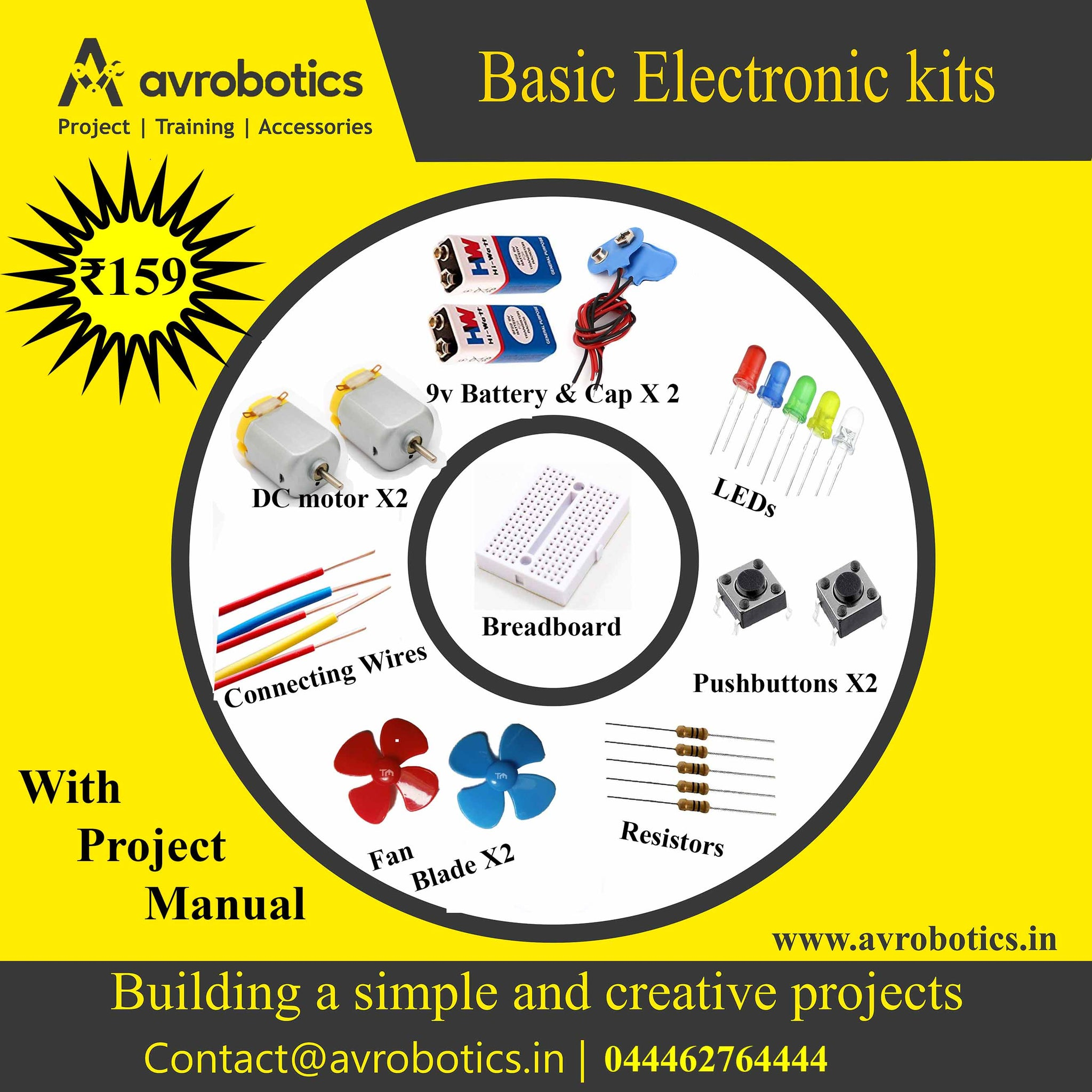 Basic Electronic Mini kit-2