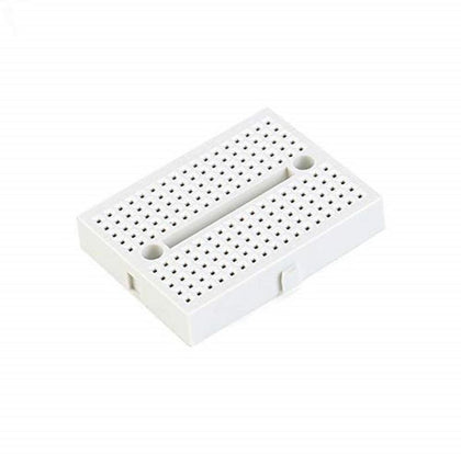 170 Points Mini BreadBoard, Solderless Mini Breadboard for Prototyping